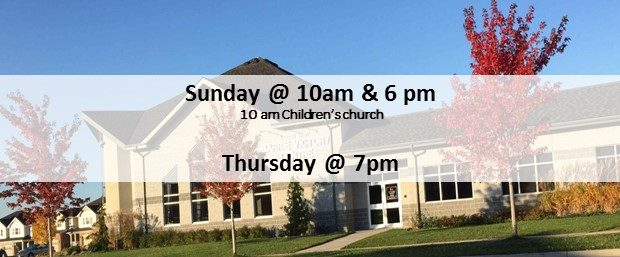 Sunday @ 10am & 6 pm